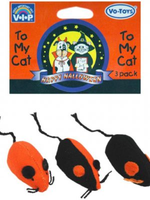 15770 HALLOWEEN HIP MICE 2.5in / 3 PACK / HEADER