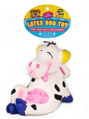"09015 Latex 5"" Lounging Bovine"