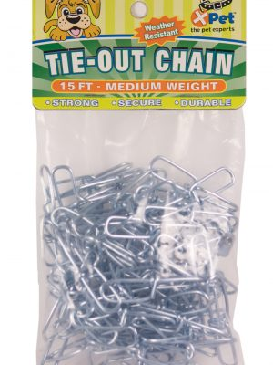 4115 2.00 mm X 15' Tie Out Chain (priced & sold as 12 packs)