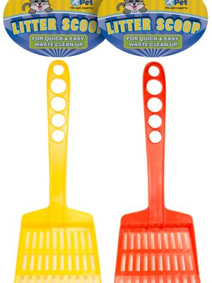 5220 Plastic Cat Litter Scoop With Rake (priced & sold as 12 packs)