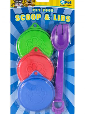56504 Plastic Can Covers 3 Pack With Fork