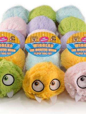 "68425 18"" Plush Wiggles The Monster Worm"