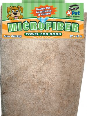 2431 Brown Microfiber Towel 27 Inch X 42 Inch