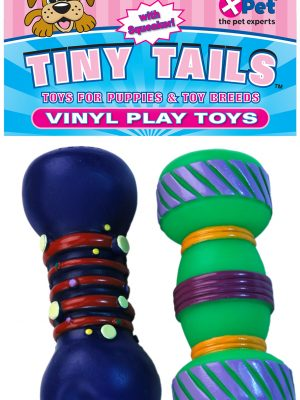 5728 Tiny Tails Vinyl Dumbbells 2 Pack