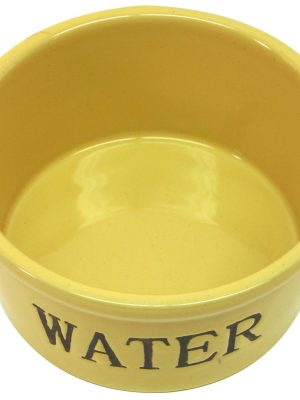 7928 Traditional Pottery Water Dish 6 Inch