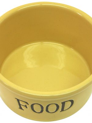 7929 Traditional Pottery Food Dish 6 Inch