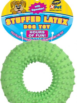 09739 Stuffed Latex Spiney Ring 5 Inch
