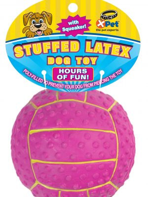 09811 Stuffed Latex 3 Inch Volleyball