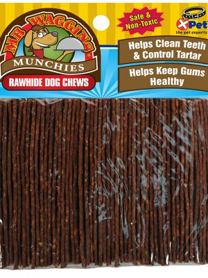 10057 6.5 Inch Munchy Beef Strips 50 Pack
